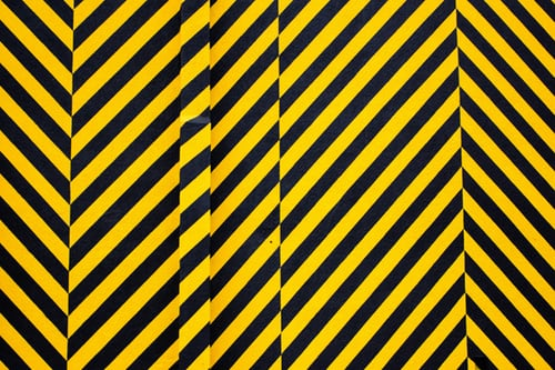 Yellow and Black warning sign
